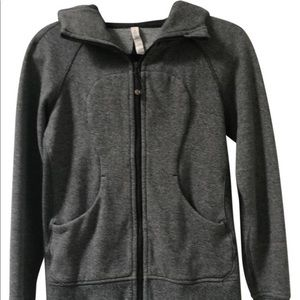 Lululemon Scuba Hoodie. Heatherd speckled Black